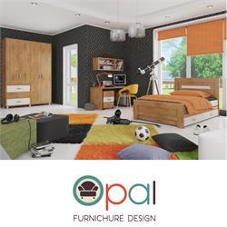 חדר ילדים קומפלט הכולל מיטה + ארון 4 דלתות + שולחן כתיבה וכוורת