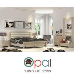 חדר שינה זוגי קומפלט בעיצוב חדשני וצעיר דגם בריסל
