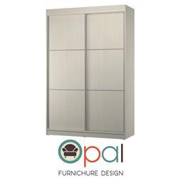 ארון הזזה 2 דלתות ברוחב 1.8 מטר  כולל טריקה שקטה ופרופיל אלומיניום בדלתות