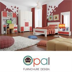 חדר ילדים מעוצב קומפלט הכולל מיטה + ארון + שידה + כוננית ושולחן