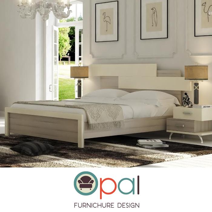 מיטה זוגית בעיצוב ייחודי חדשני וצעיר